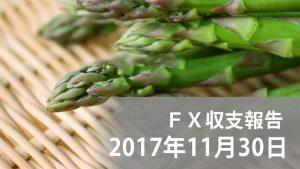 【FXブログ】1時間足最強!?初心者がデイトレに挑戦 – 2017/11/30